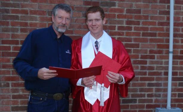 Ethan Lenz Van High School Graduation
